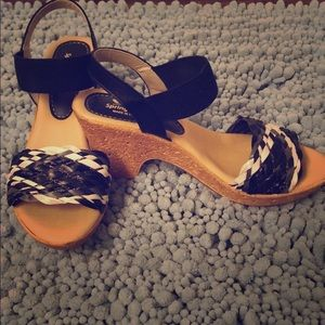 Spring Step wedge sandals